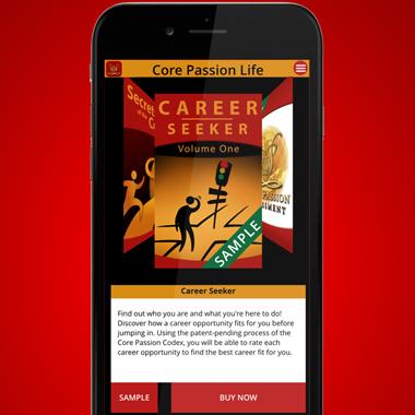 Core Passion Life app
