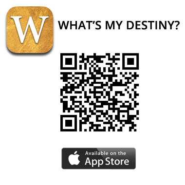 What's My Destiny QR code