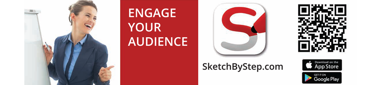 Get Sketch by Step App QR link